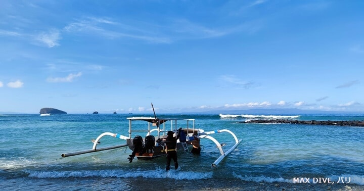 バリ島チャンディダサ、テペコン&ミンパンでファンダイビング