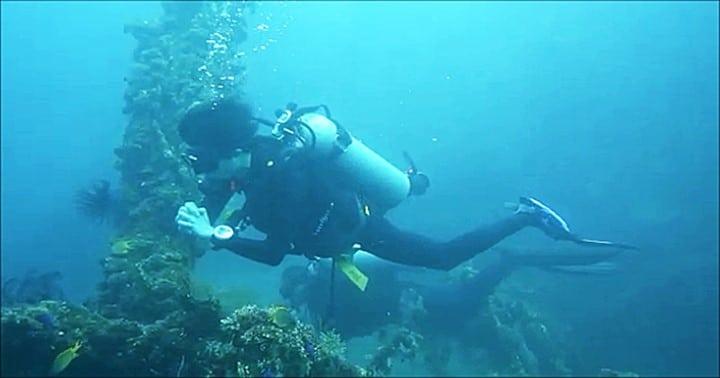 バリ島トランベンの沈船ポイント