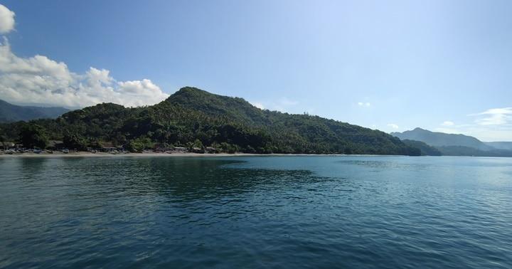 バリ島パダンバイの海,ダイビング