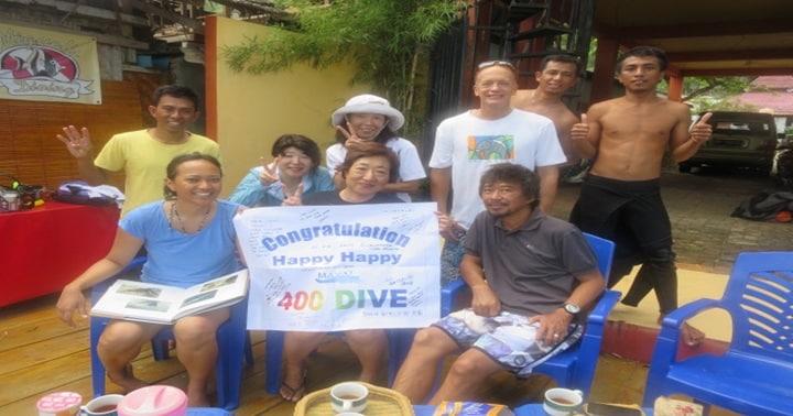 400 celebration dive gorontalo