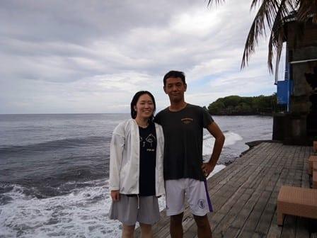 バリ島アドバンスダイバーコース