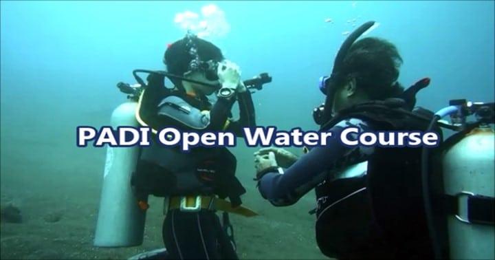 バリ島ダイビングライセンス取得コース,オープンウォーターダイバー