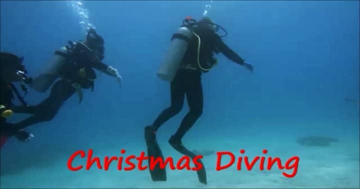 バリ島パダンバイでクリスマスダイビング
