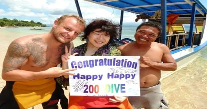 bangka island 200 dive