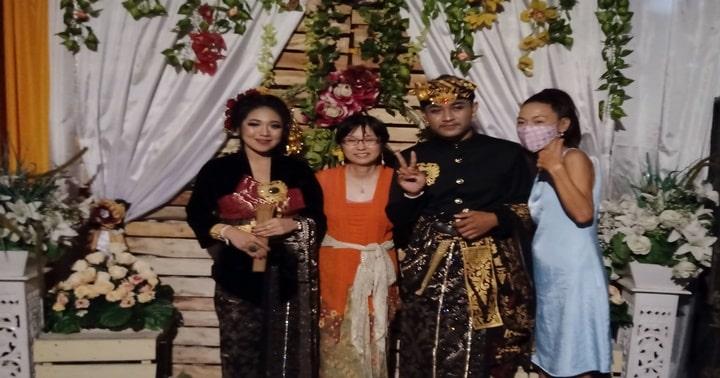 バリ人の結婚式,バリ島結婚式