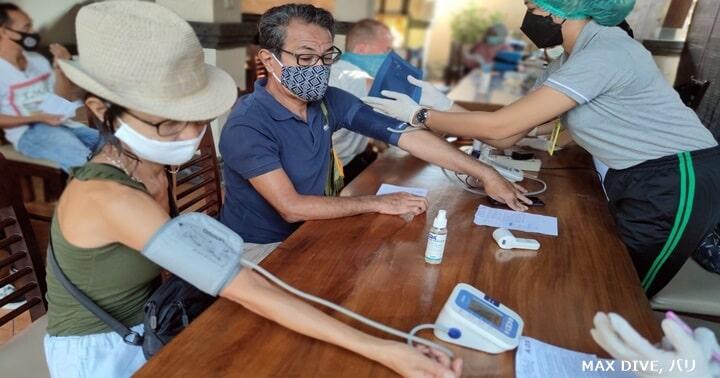 バリ島でコロナのワクチン接種,2回目