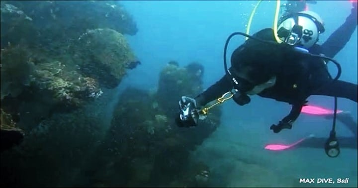 バリ島ダイビング,レンタルカメラ
