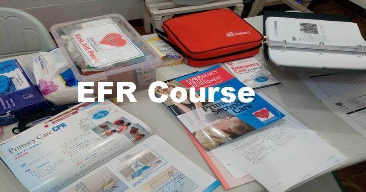 バリ島EFR course