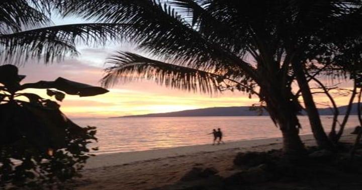 sun set bangka island